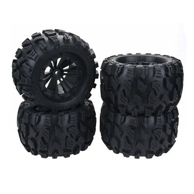 £26.59 • Buy 1/10 RC Car Monster Truck Wheels Tires For HPI HSP Savage XS TM Flux ZD Racing