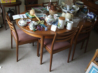 £300 • Buy G-Plan FRESCO Table & Chairs Purchased New In Good Condition - Moving House Sale