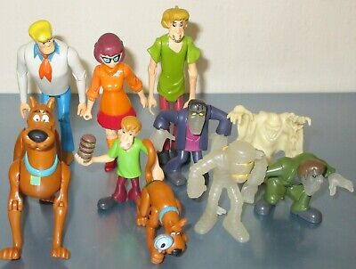 £14.99 • Buy Hanna-Barbera Scooby-Doo Fred Shaggy Velma Ghosts Monsters 10 Figures