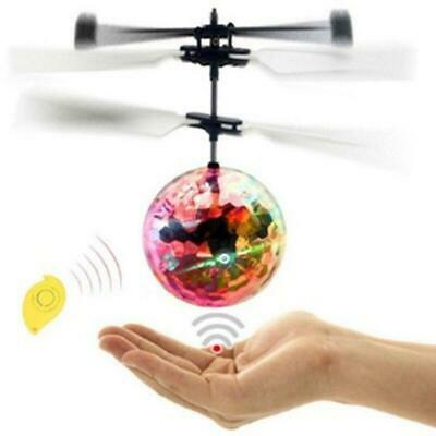 AU13.63 • Buy Toys For Boys Age 3 4 5 6 7 8 9 10 Year Old Flying Ball Mini Drone Led Light Up