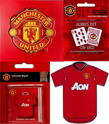 £3.50 • Buy Manchester United Magnets Assorted Designs
