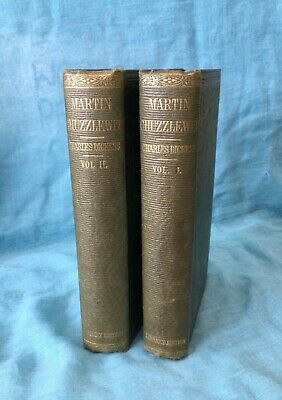 £4.99 • Buy Charles Dickens Martin Chuzzlewit 1858 2 Volumes