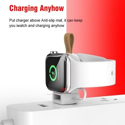 $ CDN36.44 • Buy Wireless Charger For Apple Watch 6 5 4 3 2 1 I Series Portable Fast Charging Doc
