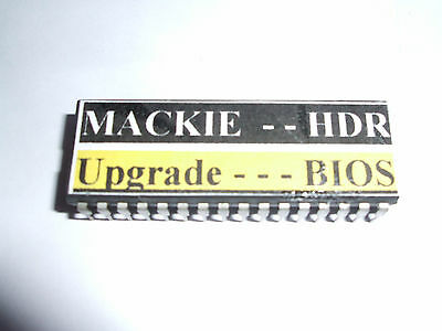 £39.95 • Buy Mackie HDR 24/96 BIOS Upgrade - To Enable Use Of Larger Hard Drives Up To 120 GB