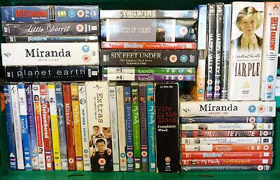 £20 • Buy Job Lot Collection Bundle BBC/ITV/Channel 4/SKY DVD TV Series And Movies #17113