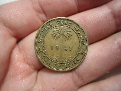 £2.12 • Buy 1947 British West Africa One Shilling