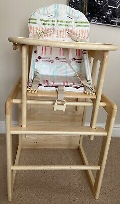 £19.99 • Buy East Coast High Chair With Insert