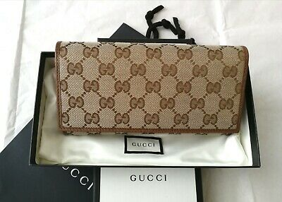 AU551.61 • Buy Authentic Gucci Guccissima Continental Wallet- Brand New