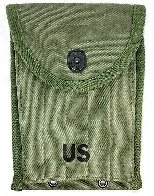 $9.95 • Buy Linemount M1 Carbine 1950 Style Magazine Pouch Olive Drab Green Reproduction