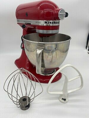 £36.11 • Buy KitchenAid Artisan Series Stand Mixer With Attachments - Red KSM150PSER