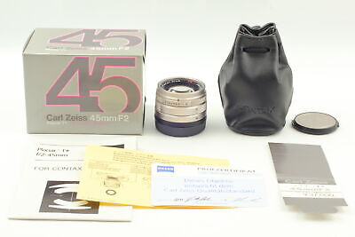 $ CDN669.81 • Buy BOXED [UNUSED] Contax Carl Zeiss Planar T* 45mm F/2 Lens For G1 G2 From JAPAN