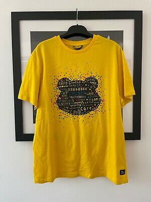£11.80 • Buy CHILDREN IN NEED PUDSEY BEAR'S FACE Adults YELLOW SLOGAN T-SHIRT SIZE L (NEW)