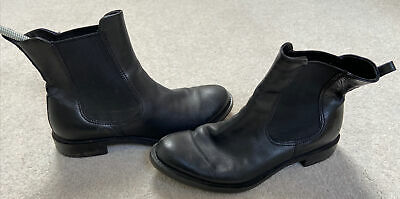 £39 • Buy Ecco Women Ankle Boots Great Condition Soft Black Leather Size 38eu