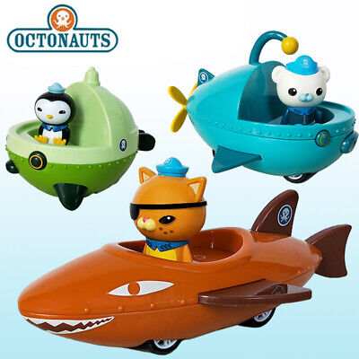 £17.98 • Buy Octonauts Pull Back Car Peso Barnacles Kwazii Figures Toy Kids Collection Gift