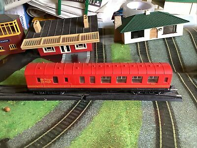 £5.20 • Buy Hornby 00 Gauge BR ER11 Royal Mail Ancillary Coach 80868 Post Office Red  - R592