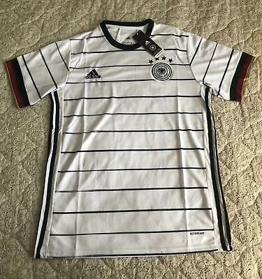 £32.99 • Buy Germany Home Football Shirt 20/21 Euros Men's Large White Home New With Tags