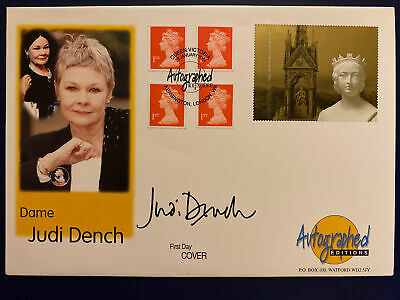 £12.99 • Buy Autographed Editions Queen Victoria Cover - Signed By Judi Dench