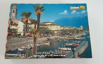 £2.75 • Buy Vintage Chad Valley 500 Piece Jigsaw Puzzle - Lake Maggiore