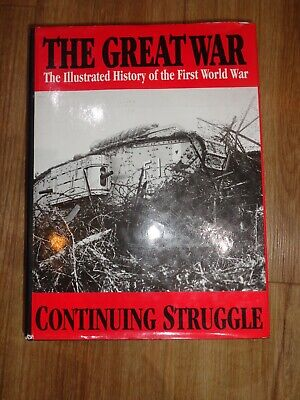 £7.99 • Buy THE GREAT WAR Vol.5 CONTINUING STRUGGLE Illustrated History Of First World War