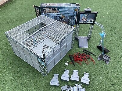£89.99 • Buy WWE Hell In A Cell Wrestling Ring Play Set Cage, Figures & Accessories Bundle