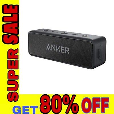 AU61.38 • Buy Anker SoundCore 2 Bluetooth Speaker With Better Bass, 24-Hour Playtime, 66ft Blu
