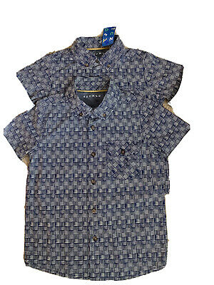 £3.60 • Buy 2 Matching Shirts -Nutmeg- 1 With Label -5-6 Yrs. & 7-8 Yrs New But Minus Label.