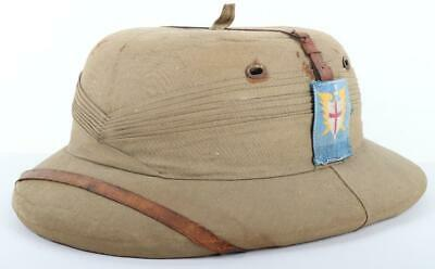 £240 • Buy WW2 British Land Forces South East Asia Bombay Bowler Pattern Pith Helmet
