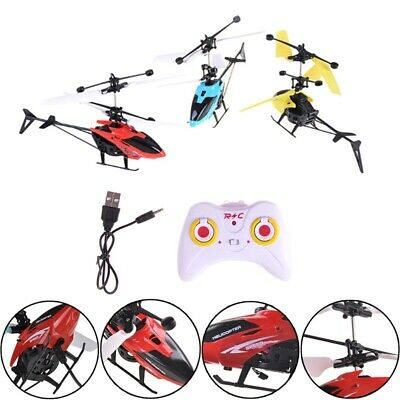 AU22.26 • Buy Kids Gift  Helicopter Mini   Drone With Crash Gyro Resistant Toys For Boy Flying