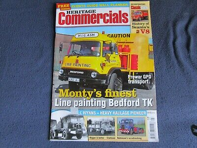 £2 • Buy Heritage Commercials Magazine - July 2012 - Line Painting Bedford TK
