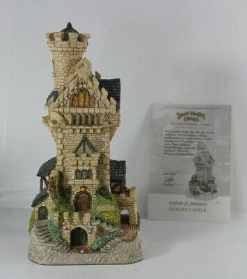 £73.12 • Buy Vintage David Winter Sherwood Forest Collection Loxley Castle 1995