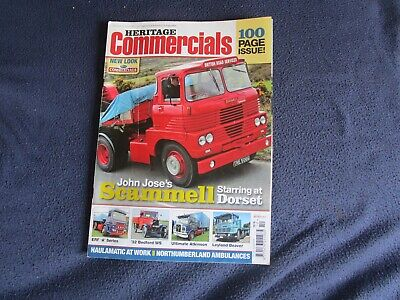 £2 • Buy Heritage Commercials Magazine - October 2009 - British Road Services - Scammell