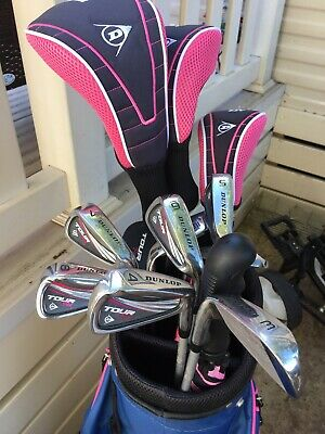 £110 • Buy Ladies Golf Clubs Full Set       Complete With Push Along Trolley,accessories