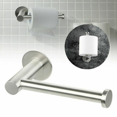 AU13.48 • Buy Wall Mounted Bathroom Toilet Paper Holder Rack Tissue Roll Stand Stainless Steel