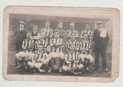 £13 • Buy UNKNOWN FOOTBALL TEAM EARLY 1900's ?  POSTCARD
