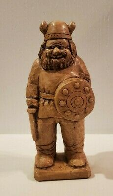 £7.24 • Buy Viking Statue Or Figurine - 9  Height Made Of Ceramic Or Plaster