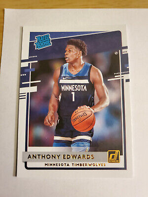 $ CDN1.20 • Buy Anthony Edwards 2020-21 Donruss Rated Rookie Card #201