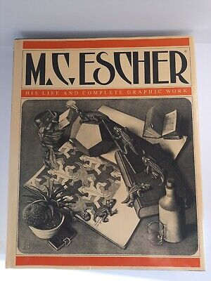 $24.95 • Buy M.C. Escher His Life And Complete Graphic Work ~ Hardcover 1992 Edition