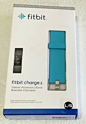 $ CDN24.84 • Buy Fitbit Charge 2 Classic Accessory Band Large Turquoise