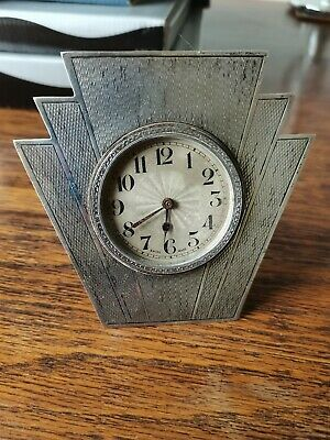 £30 • Buy Swiss Made Sterling Silver Clock