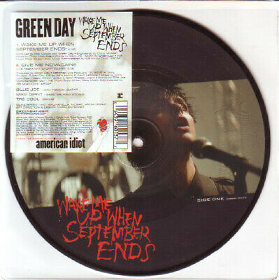 £27.99 • Buy GREEN DAY - Wake Me Up When September Ends -  7  Picture Disc. MINT UNPLAYED