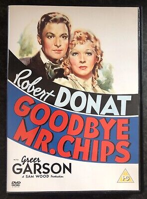 £4 • Buy Goodbye Mr Chips Dvd 1939 (robert Donat) As Good As New Mint Condition