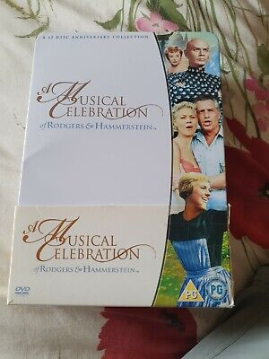 £5.99 • Buy A Musical Celebration Of Rodgers And Hammerstein - 12 X DVD IN METAL TIN 6 FILMS