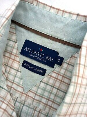 £10 • Buy ATLANTIC BAY Authentic Oxford Size S Mens Shirt-Pre Owned,slightly Used