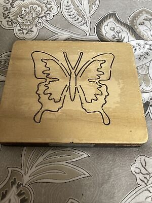 £10.95 • Buy Wooden Cutting Die From Cross-Cuts. Butterfly #5. Great For Felt & Fabric
