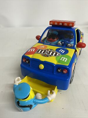 $15 • Buy 2010 M&M Chocolate candy Dispenser Multicolor Police Car Collectibles