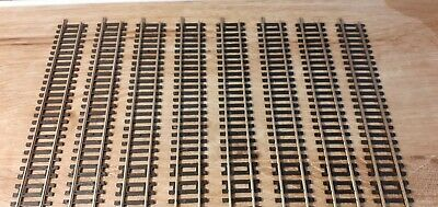 £14.99 • Buy 8 X Hornby R601 Double Straight Nickel Silver Track - Excellent
