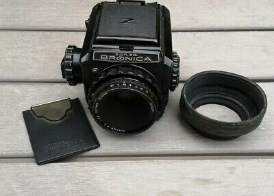 £325 • Buy Zenza BRONICA  Camera 6x6 With 75mm Lens  + Hood S2 S2a