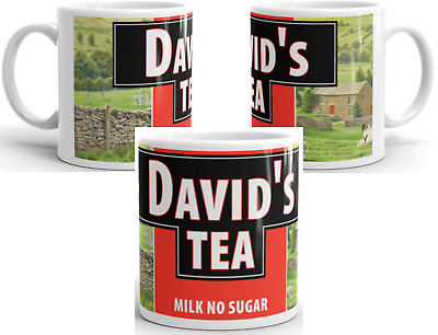 £9.49 • Buy Personalised Custom Yorkshire Tea Mug Cup - Any Name Birthday Fathers Day Gift