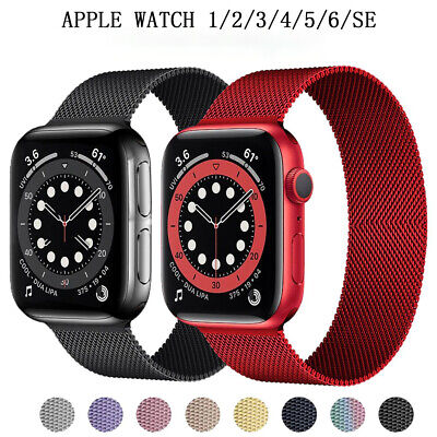 AU11.08 • Buy Milanese Loop Bracelet For Apple Watch Band Stainless Steel Watch Band 123456SE
