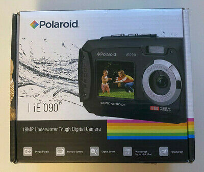 £39 • Buy Polariod 18MP Underwater Tough Digital Camera Boxed Tested, Working